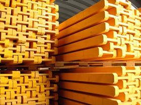 Двутавровая деревянная балка для опалубки