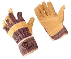 Утепленные перчатки спилок