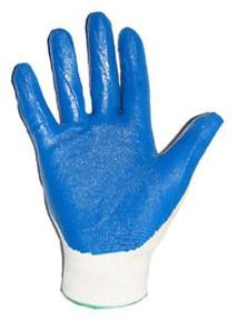 Перчатки с рифленым латексом